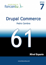 Portada libro Drupal Commerce